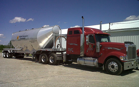 Transloading Services by Mitchel Enterprises